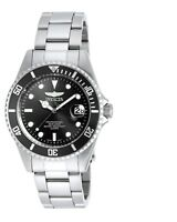 Invicta 8932OB Mens Pro Diver Black Dial Stainless Steel Bracelet Dive Watch