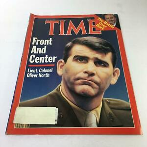 Time-Magazine-July-13-1987-Lieut-Colonel-Oliver-North-Front-And-Center