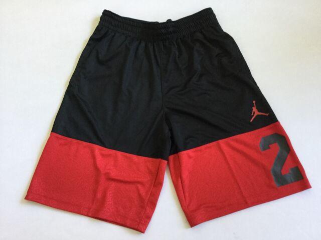 94aa581ce4a71d Nike Men Air Jordan Blockout Basketball Shorts Dri-fit Ar2834 Red Size S