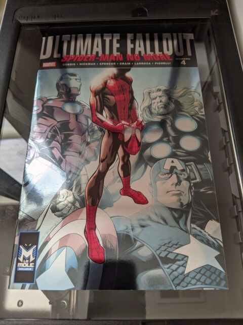 ULTIMATE FALLOUT #4 MARVEL COMICS 2021 1ST APPEARANCE OF MILES MORALES