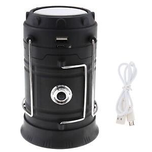 COB LED Camping Tent Light Lantern Fishing Lamp Portable Battery Powered 200V