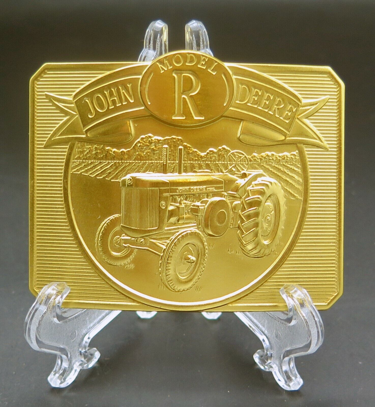 John Deere Model R Tractor Farming Agriculture Go… - image 1