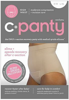 C-Panty High Waist C-Section Recovery Slimming Underwear Black / Nude S/M / L/XL