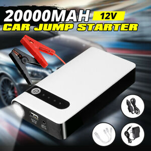 20000mAh 12V Car Jump Starter USB Charger Battery Emergency Power Bank Accessory