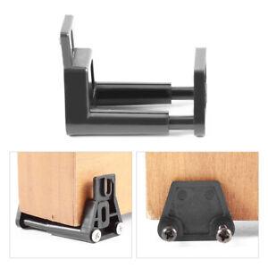 Barn Door Floor Guide Stay Roller Black Adjustable