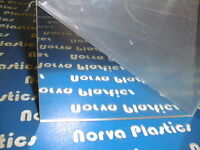(5049)acrylic Mirror Clear 2pcs 1/4 Thick 12x 12