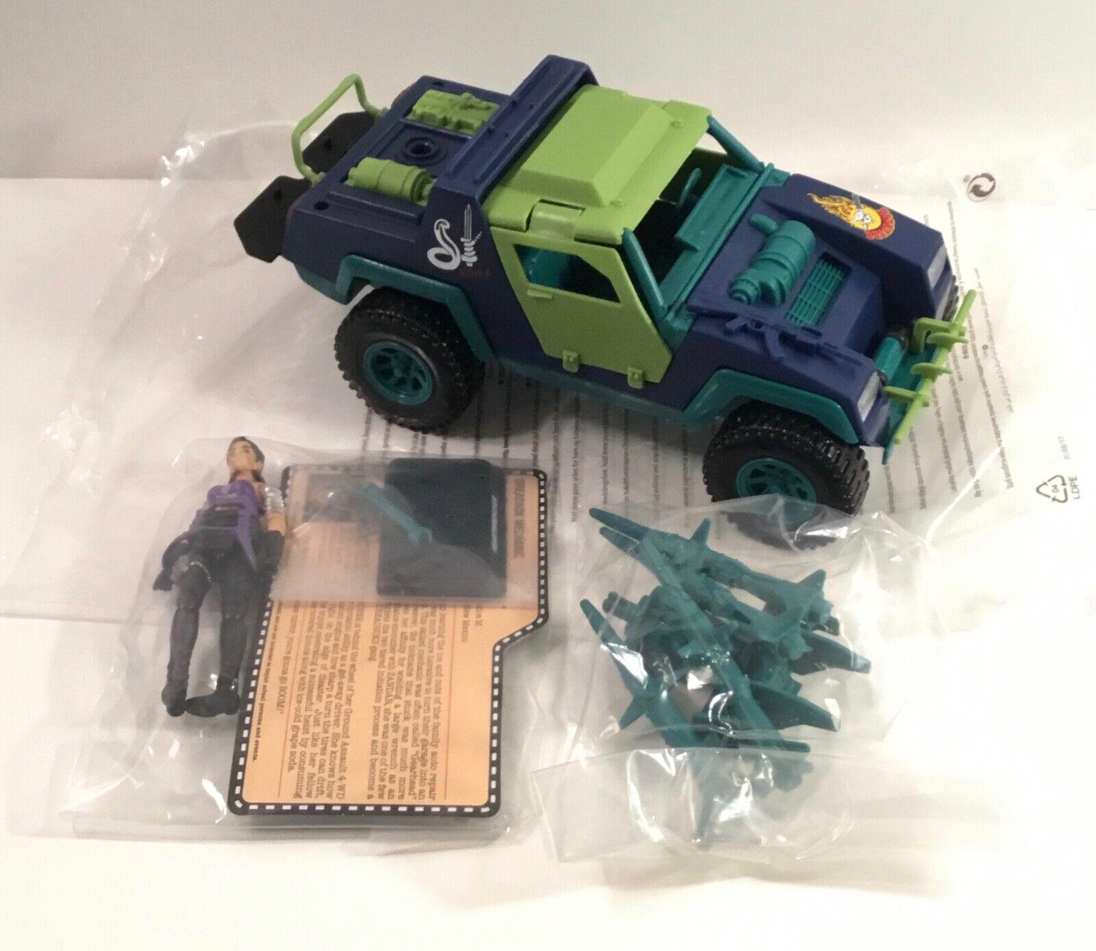 GI Joe Dreadnok Ground Assault with Heartwrencher figure vehicle Joecon Verein 4