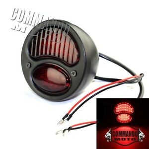 1x-Ford-Model-A-LED-Motorcycle-Tail-Lights-For-Harley-Chopper-Bobber-Vintage-Old