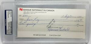 Maurice-Richard-Signed-Autographed-Auto-JSA-COA-Canada-HOF-Montreal-Canadiens