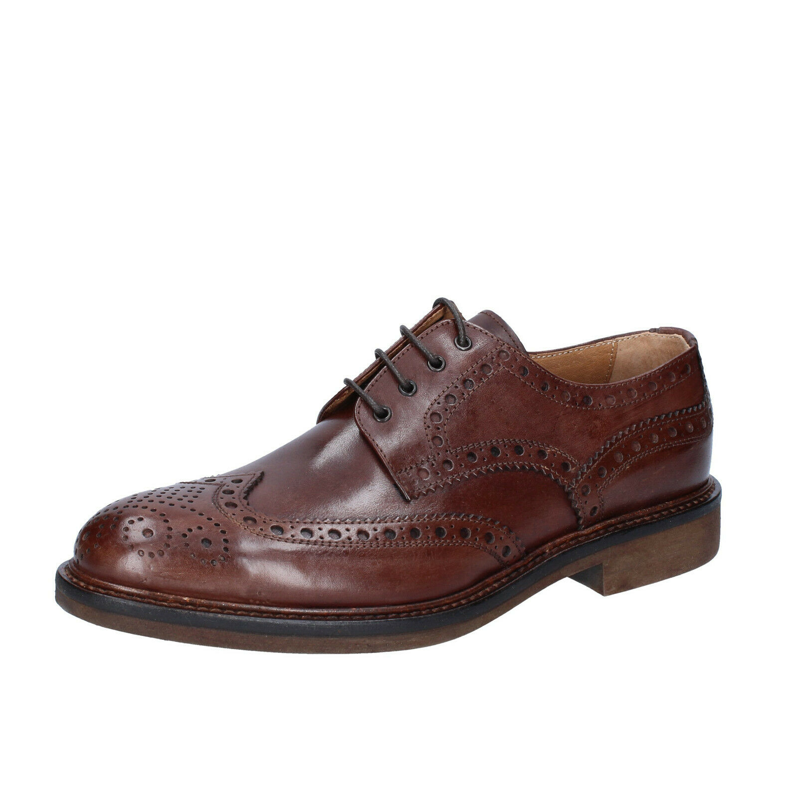Men's shoes ZENITH 9 () elegant brown leather BS694-42
