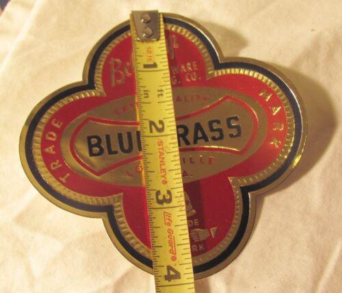 4 inches vintage NOS Belknap hardware foil label