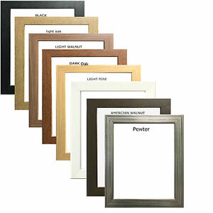 Photo Frame Picture Frame Poster Frame Wooden Effect In Various Colours & Sizes