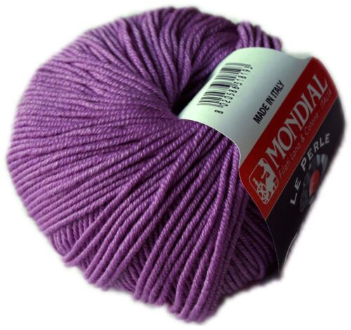50g Giada mondial extra fino merino-seda lana lana merino Silk seta soie Lace