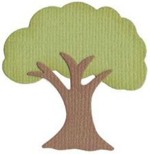 "Quickutz   KS-0737  /""Tree/"" No Packaging  Retired//Disc//Custom Die NEW"