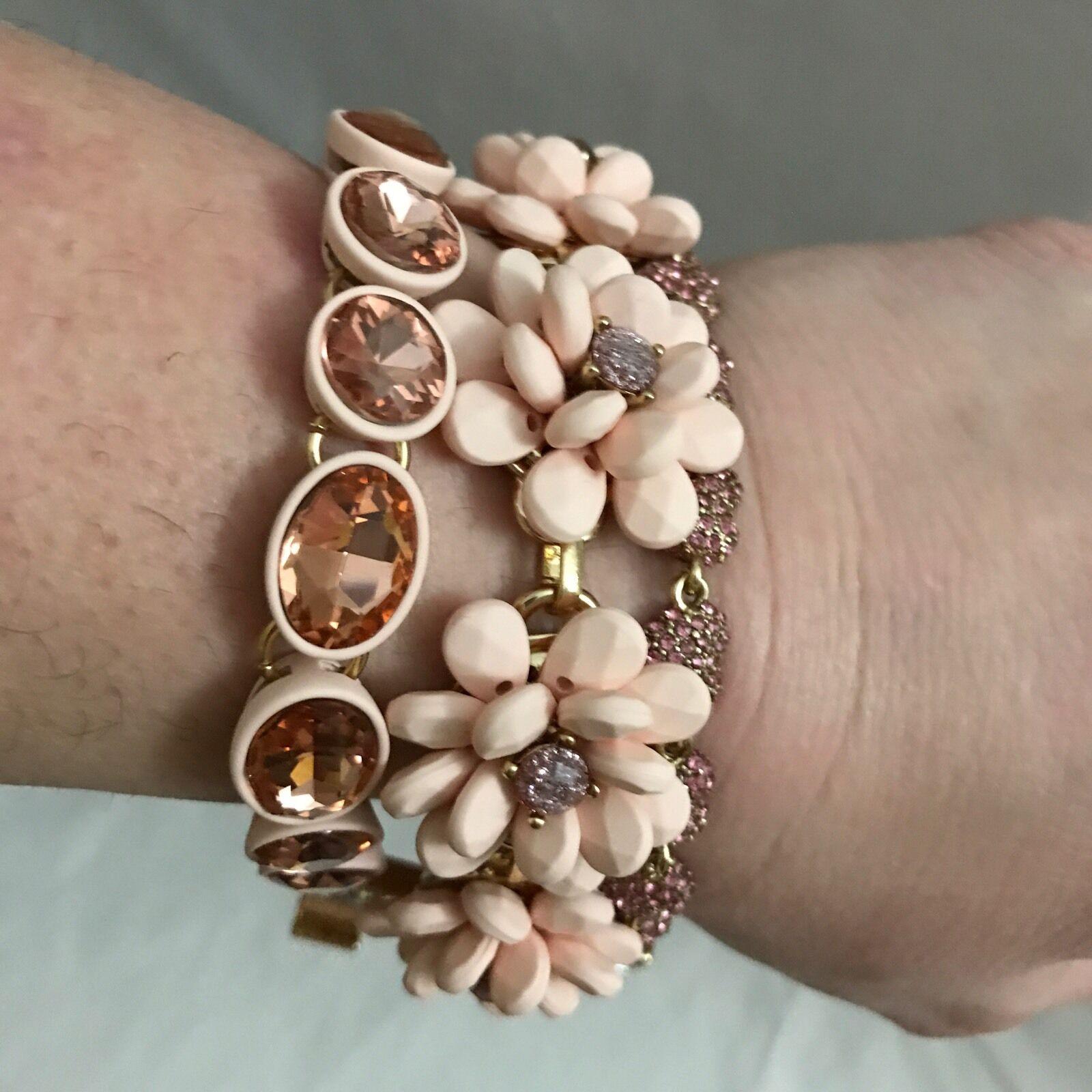 Betsey Johnson Marie Antoinette Multi Strand Statement Toggle Bracelet