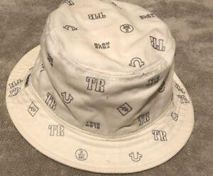 f0ddc66256cf3 NEW True Religion Men s Monogram Tpu Twill Bucket Size  S M ...