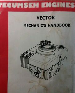 Tecumseh Vector Vertical Engine Service Manual Vlv4 Vlv5 4 5hp Ariens Lawn Mower Ebay