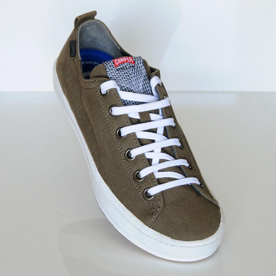 Camper Herren Sneaker Textil Olivfarben Gr. 43