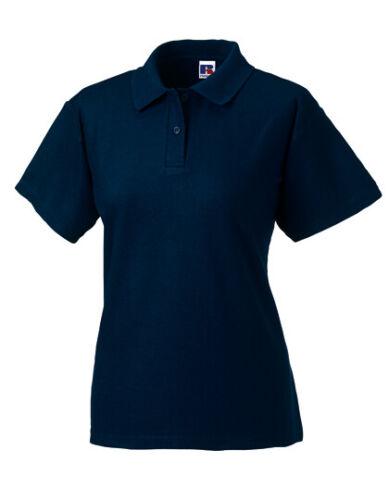 Damen Polo Shirt von Russell Ladies Poloshirt 65//35