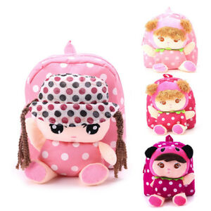 93a4207de25 Image is loading Baby-Toddler-Kids-Child-Cute-Cartoon-Girls-Backpack-