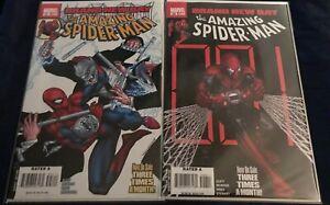 Amazing Spider-man #547 & 548 - 1st Appearance Dexter Bennett ALL NM GEMINI SHIP