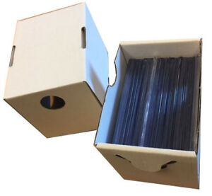 Details About 50ct Max Pro Baseball Card Toploader Storage Box Mtg Pokemon Includes Lock