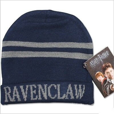 1x Cosplay Harry Potter Hufflepuff Slytherin Gryffindor Ravenclaw Wool Hat Cap W