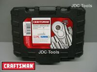 Craftsman 11 Pc. 6 Pt. Standard 1 4 In. Dr. Socket Wrench Set With Storage Box Tools and Accessories
