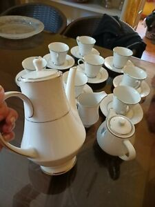 noritake 6909 japan tea set,on display only bought in japan 1974 never been use.