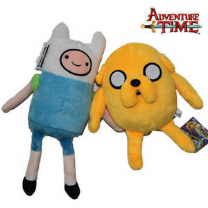 2X-Adventure-Time-Plush-Toys-Finn-and-Jake-12-034-Character-Stuffed-Animal-Doll