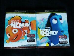 FINDING-NEMO-DORY-4K-Blu-ray-FREE-SHIP-FindingNemo-PIXAR-Animation-4K