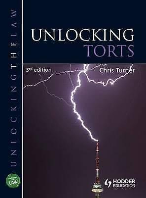 Unlocking Torts (Unlocking the Law)-ExLibrary