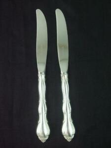 """French Provincial by Towle Sterling Silver individual DINNER Knives 9.5/"""""""