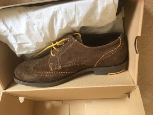 Suede Scott Size £100 Box New Shoes With 10 amp; Mens Was Lyle Tw76qnT