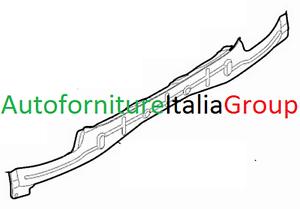 TRAVERSA RINFORZO PARAURTI POSTERIORE INFERIORE FIAT 500 12/> 2012/> ORIGINALE