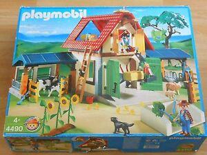 Playmobil Großer Bauernhof 4490 Mit Verpackung Ebay