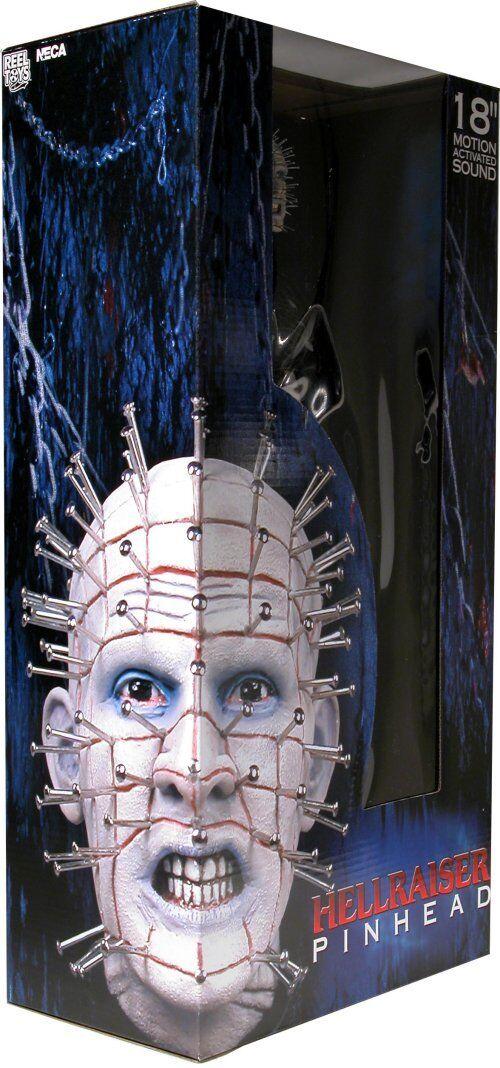 Pinhead Horror Xmas Gift Hellraiser Talk Movie uomoiac azione  cifra Htuttioween  Spedizione gratuita per tutti gli ordini