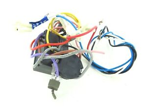 Details about #12 - Used Hampton Bay Ceiling Fan Wiring Harness with on hampton fans wiring diagrams, hampton bay pull switch wire order, hampton bay parts, hampton bay logo, hampton bay flex track head, hampton bay remote control installation, hampton bay pull chain repair, hampton bay photocell replacement, hampton bay receiver dip switches, hampton bay pull switch replacement,
