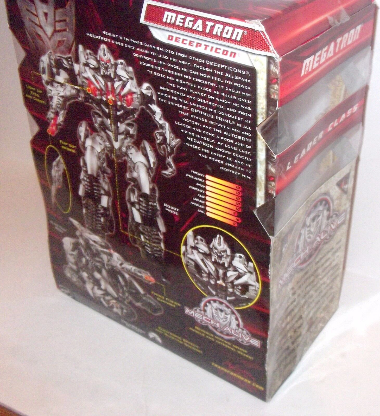 New Transformers Movie 2 redF Leader Leader Leader Class Megatron Figure USA VERSION Authentic d6f70f