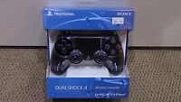 Black Dualshock Sony Playstation 4 Ps4 Game Controller Wireless -