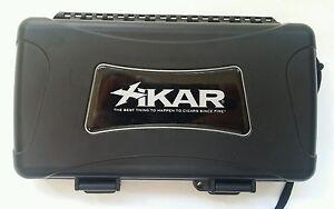 XIKAR 3Max5 Cigar 5 Count Travel Humidor Case 3MAX5 Travel with Them Cigars