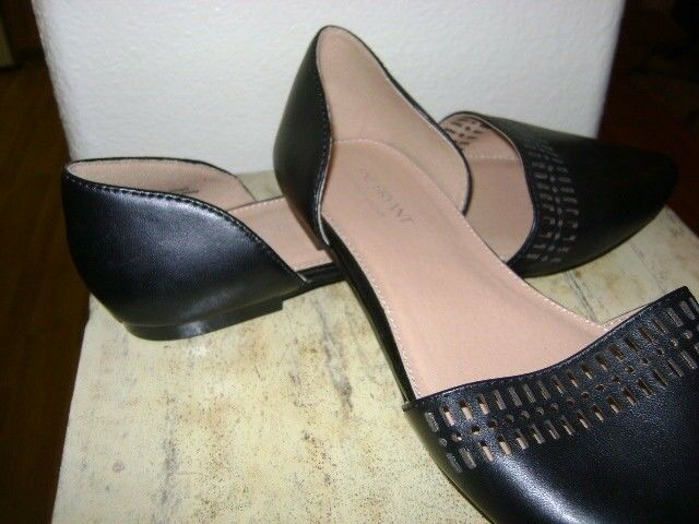 LANE BRYANT  BLACK Slip-On Slip-On Slip-On shoes SZ 9W WIDE NEW ebbb2b