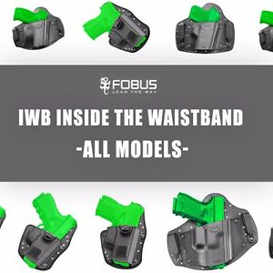 IWB-Inside-Waistband-Holster-For-Glock-CZ-Beretta-Walther-Taurus-Ruger-Sig-S-amp-W