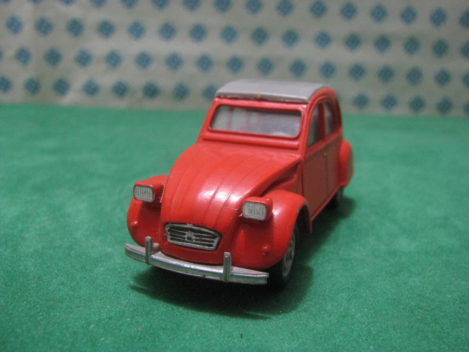 Vintage - CITROEN 2CV 6 - 1 43 Solido Ref. 56