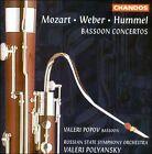 Mozart, Weber, Hummel: Bassoon Concertos (CD, Oct-1998, Chandos)