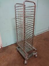 """""""HENNY PENNY"""" H.D. COMMERCIAL S.S. ROLL-IN CART w/CHICKEN RACKS FOR SCG 201 OVEN"""