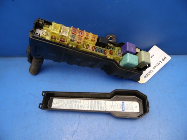 98-00 Lexus Gs300 OEM under hood fuse box w/ fuses relays ...