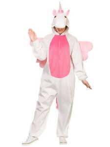 Image is loading Adult-Deluxe-Unicorn-Costume-Fancy-Dress-Animal-Fairy-  sc 1 st  eBay & Adult Deluxe Unicorn Costume Fancy Dress Animal Fairy Tale Book Day ...
