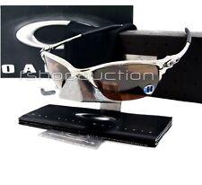 Oakley 04-142 HALF X Polished VR28 Blk Mens Rare X Metal Collectors Sunglasses