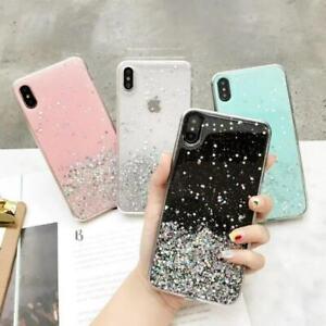 Case-Bling-Slim-For-iPhone-XS-Max-XR-X-7-8-6s-Glitter-TPU-Cute-Soft-Clear-Cover